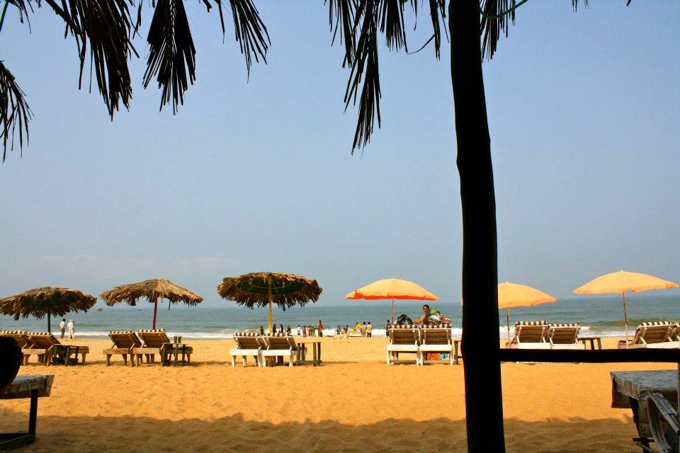 Calangute Goa India beach sun