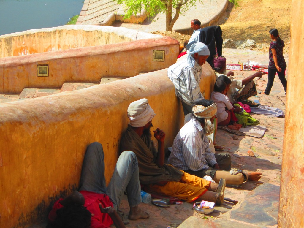 Beggars in Jaipur