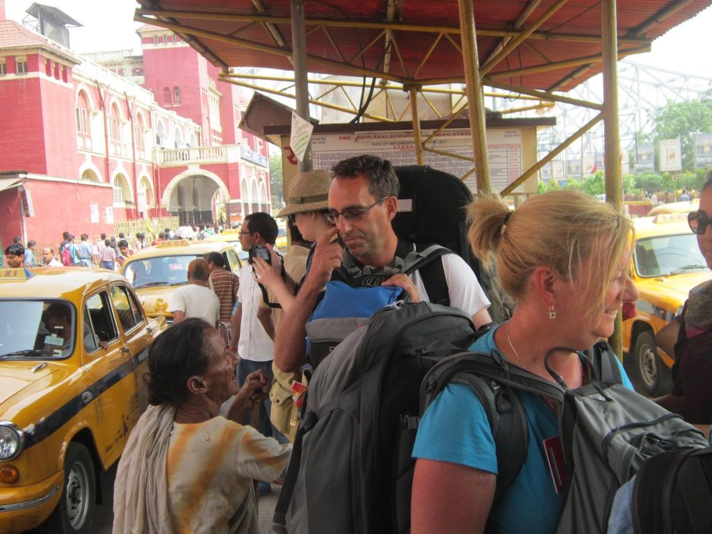 Beggars in Kolkata, India