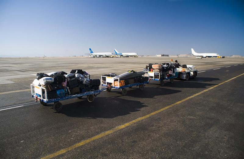 Baggage runway airport