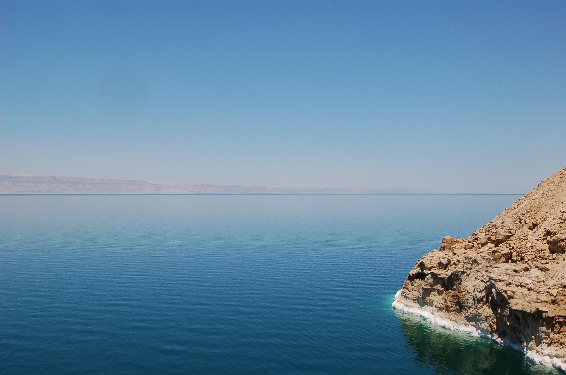 Dead Sea Jordan blue