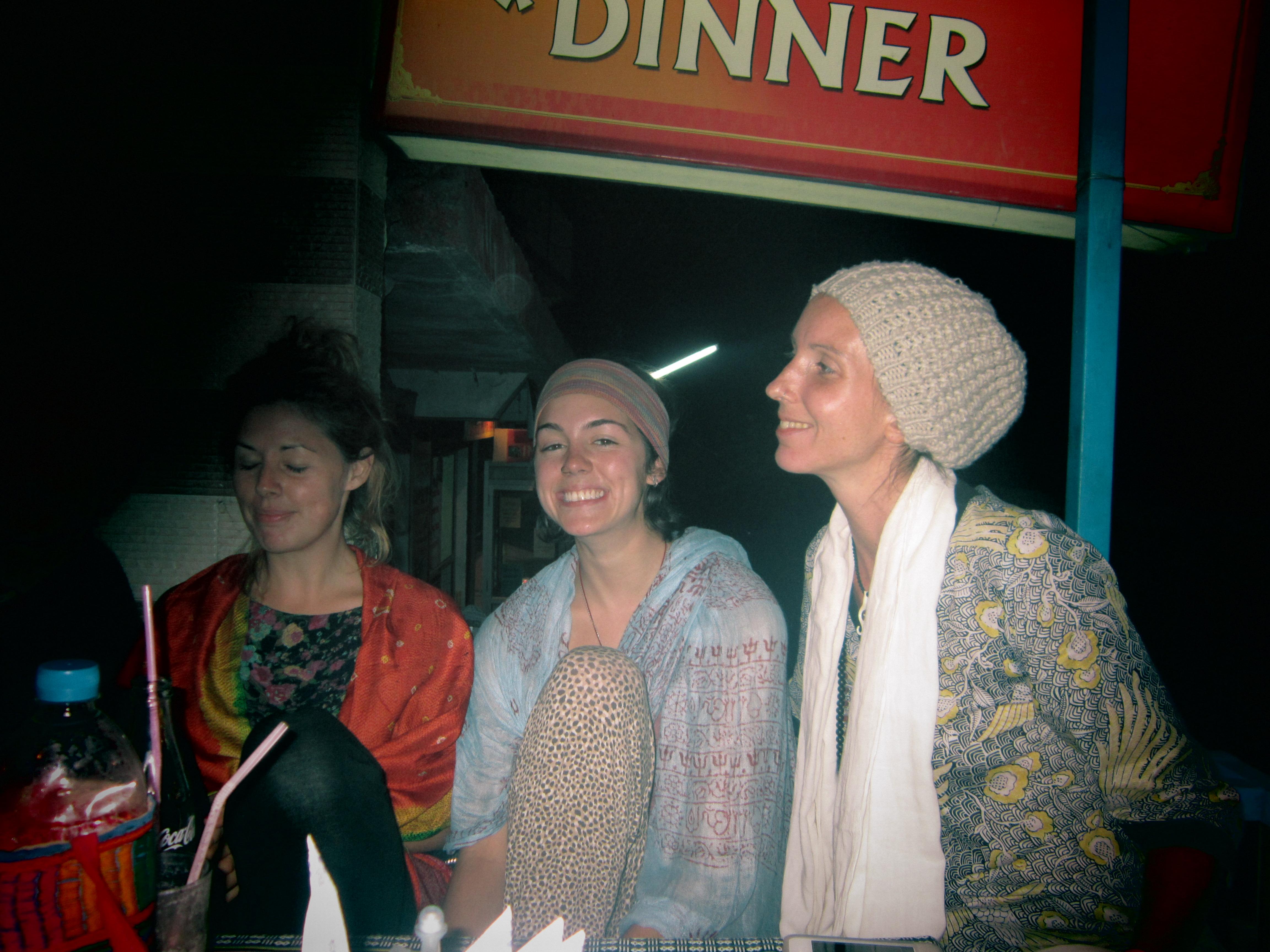 Bhagsu India Western hippy travellers