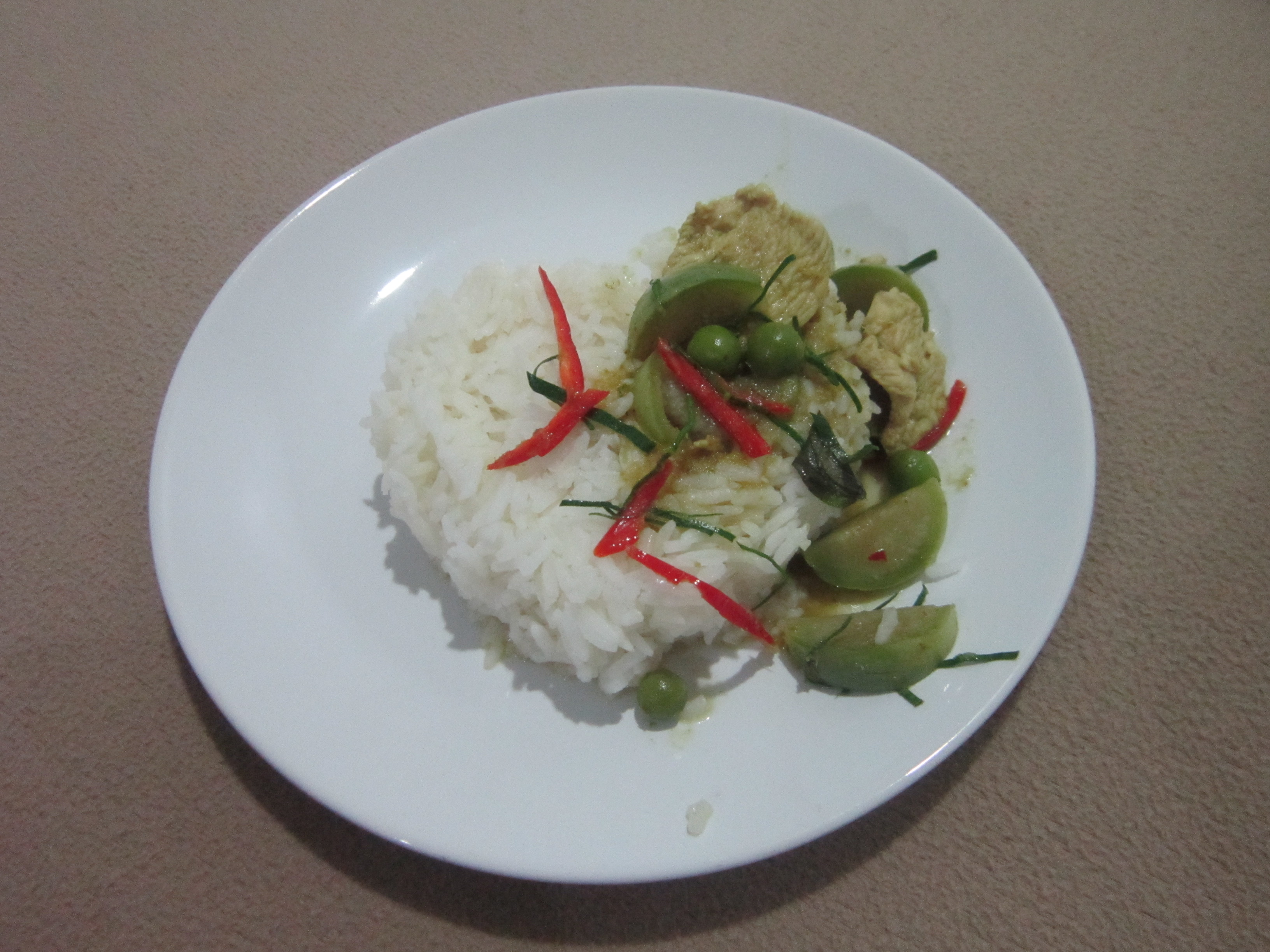 Thailand Thai green curry food