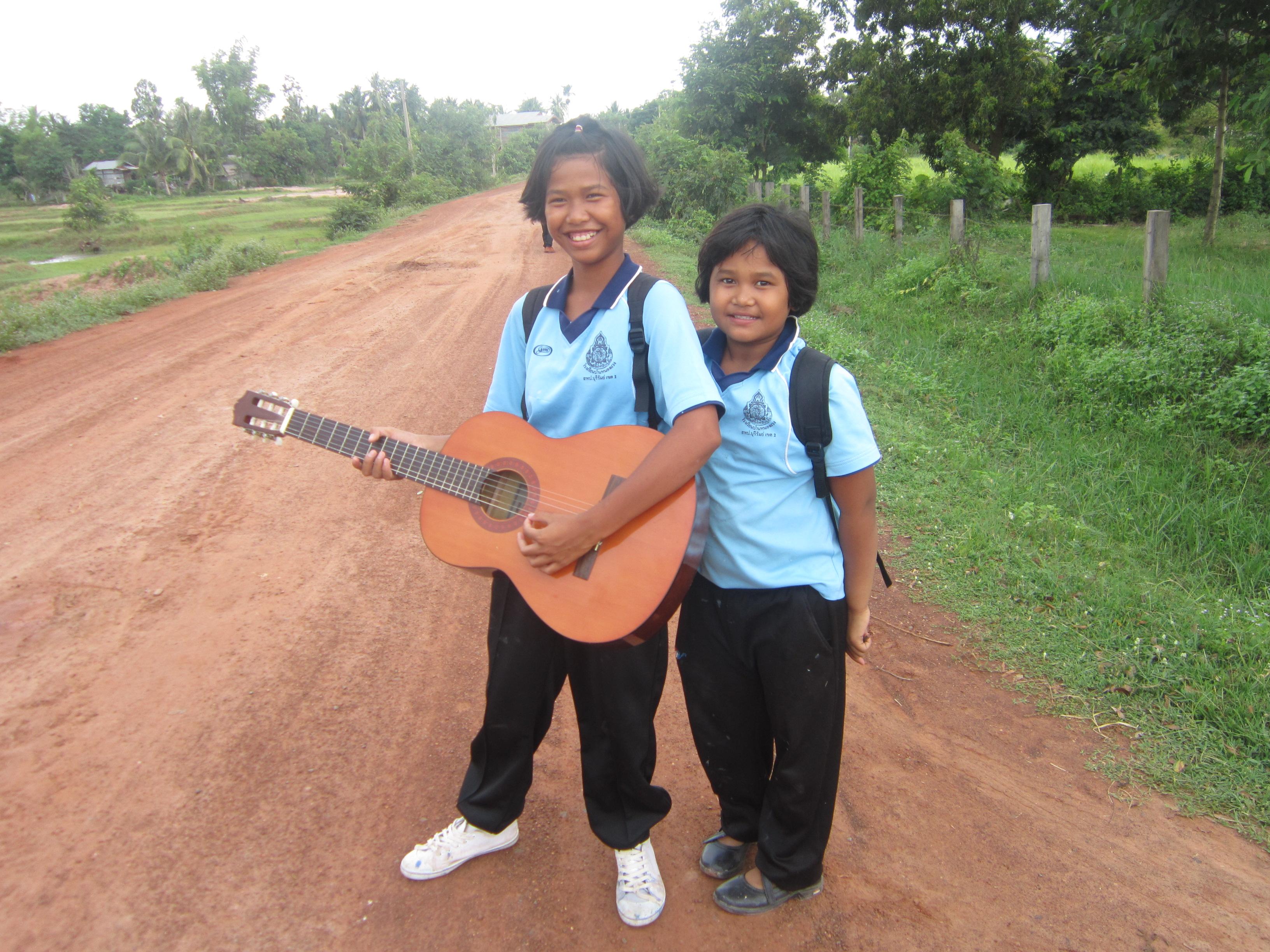 School children in Nong Weang, Thailand