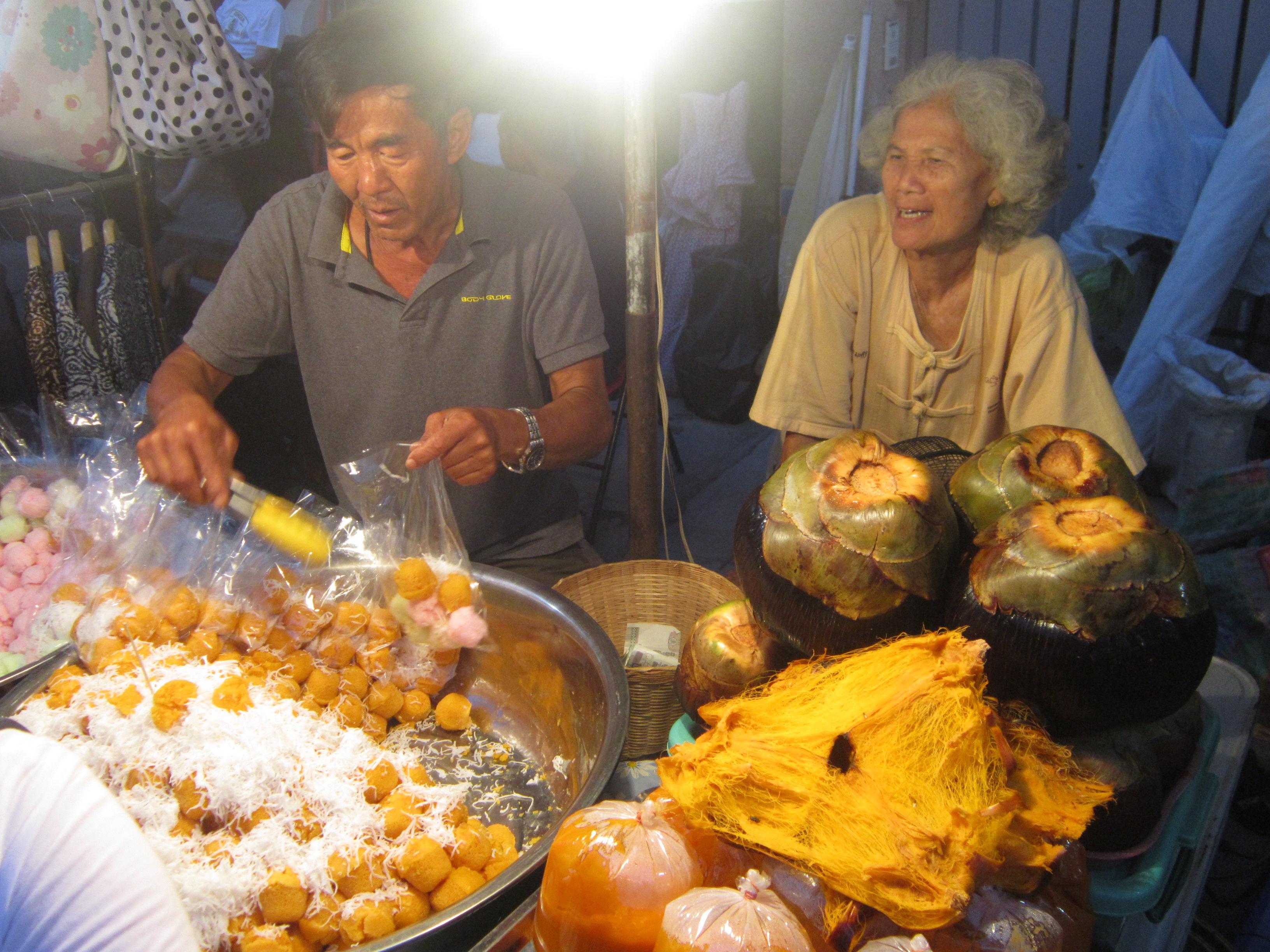 Chiang Mai Thailand market