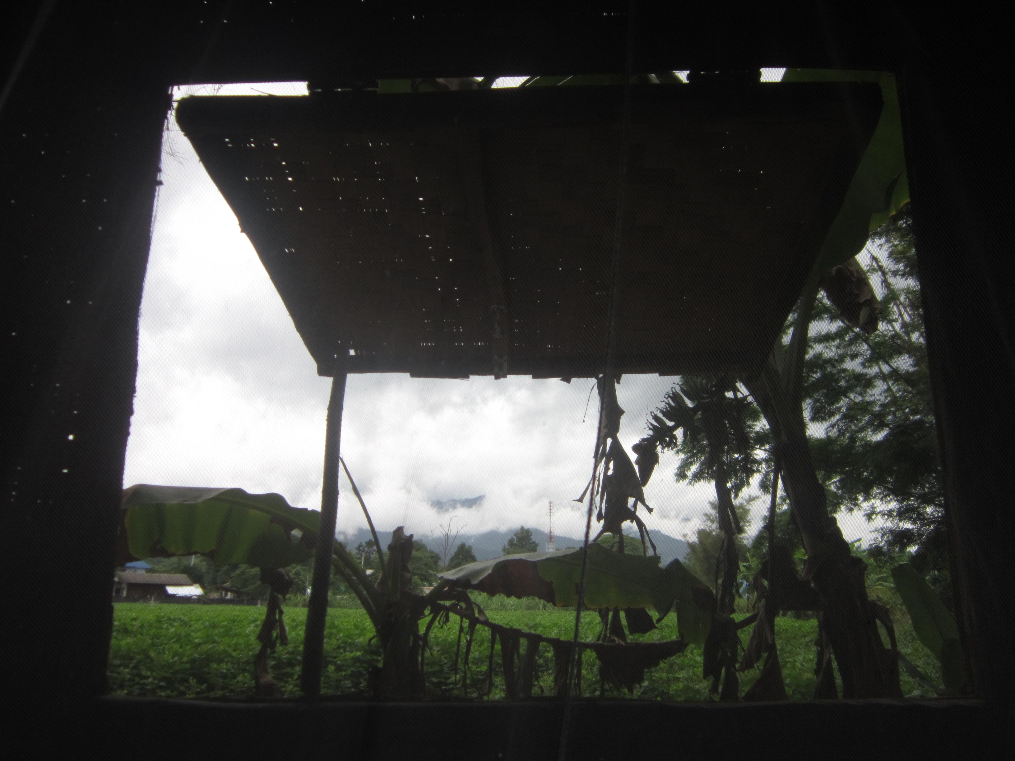 Pai Thailand wooden huts