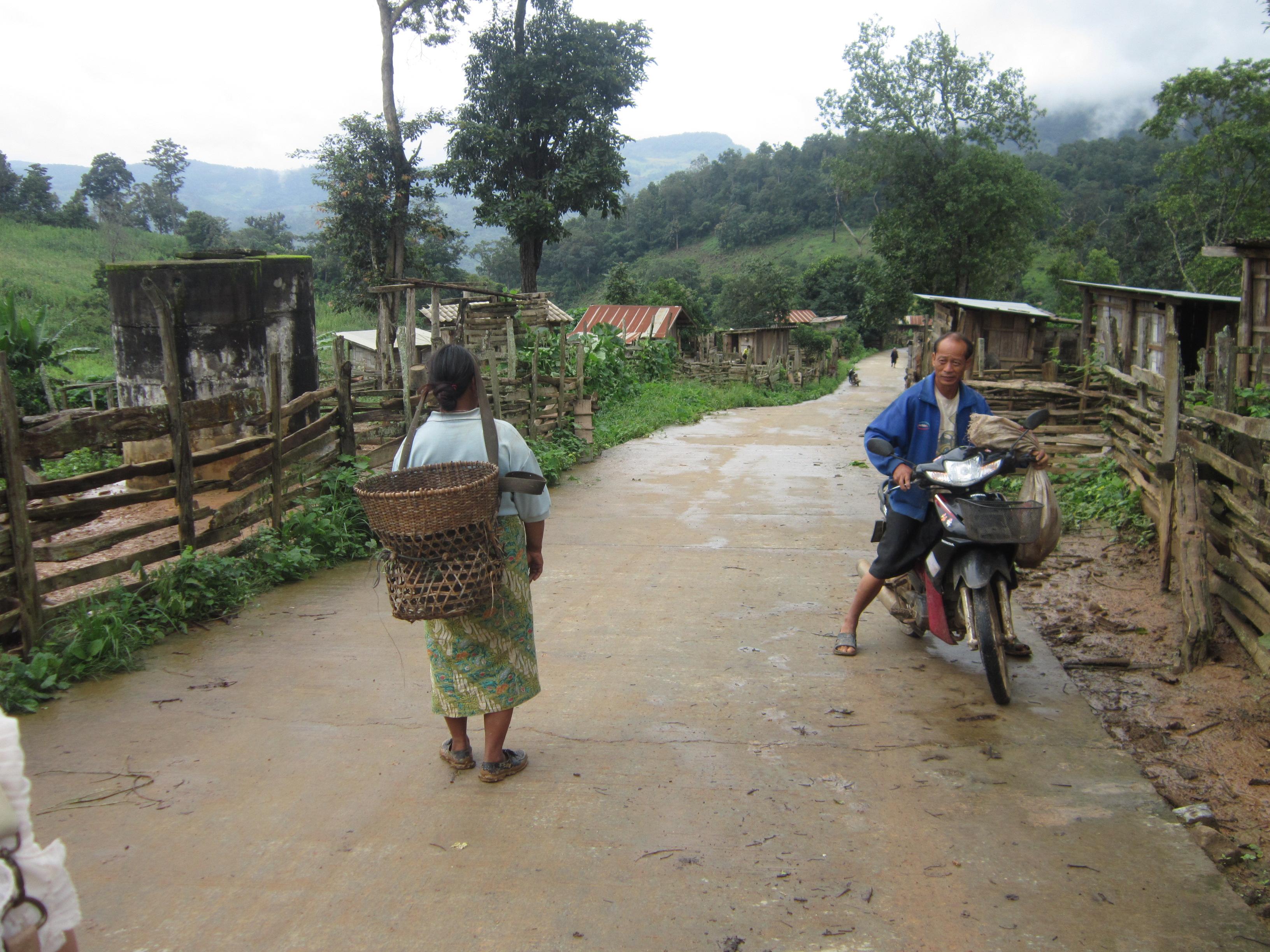 Pai Thailand village villagers