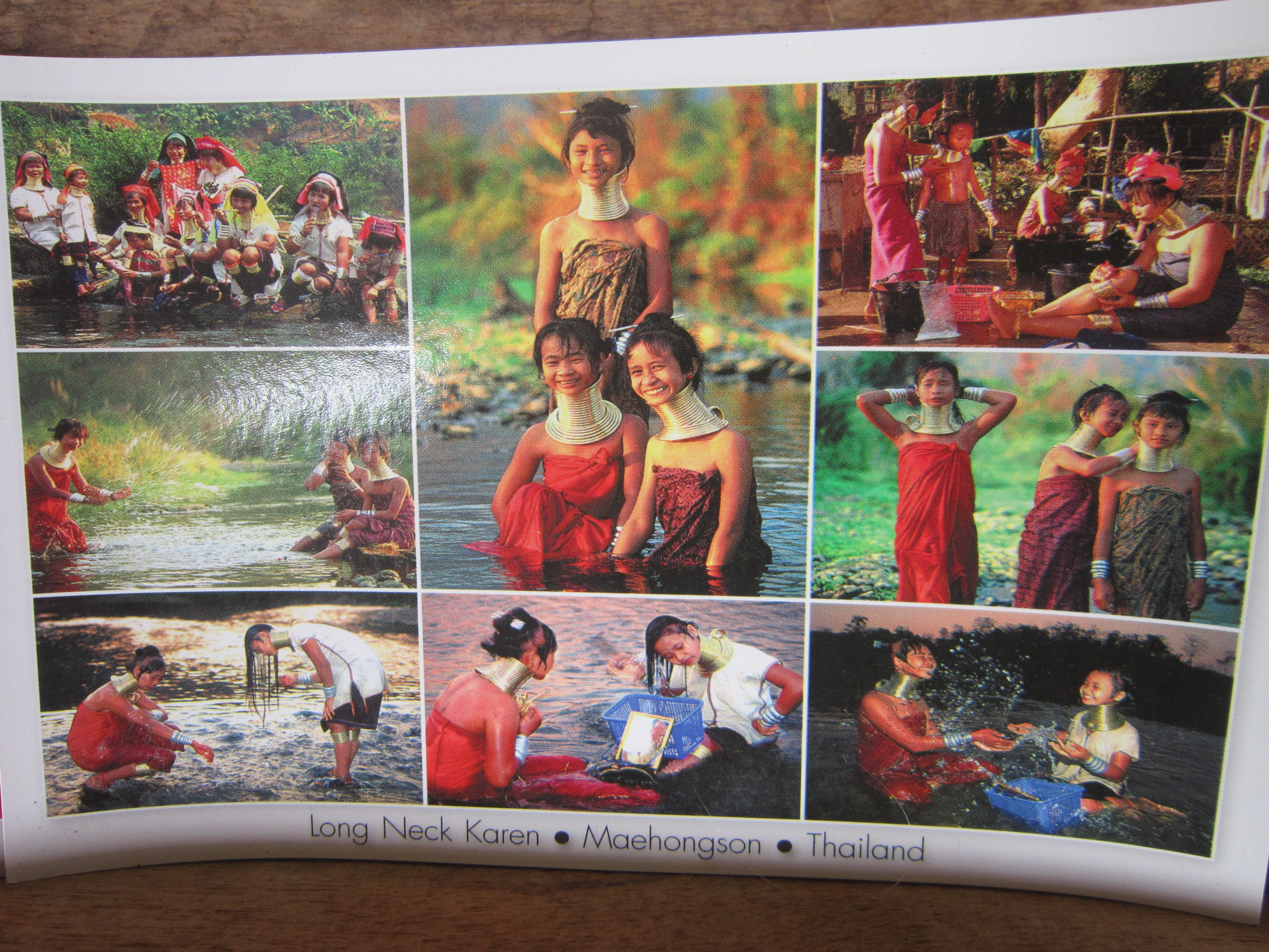 Thailand Long neck Karen tribe
