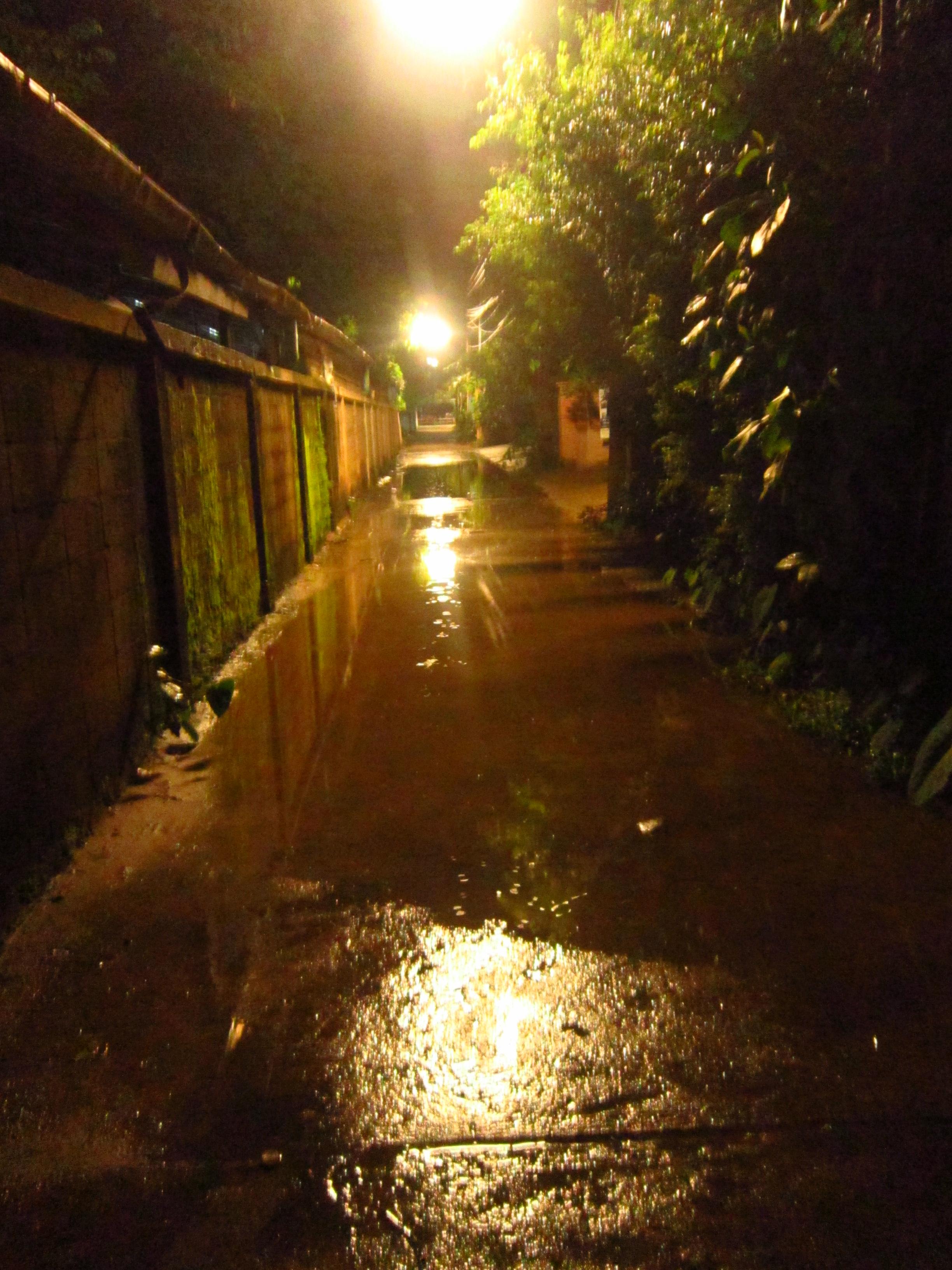 Pai Thailand rain
