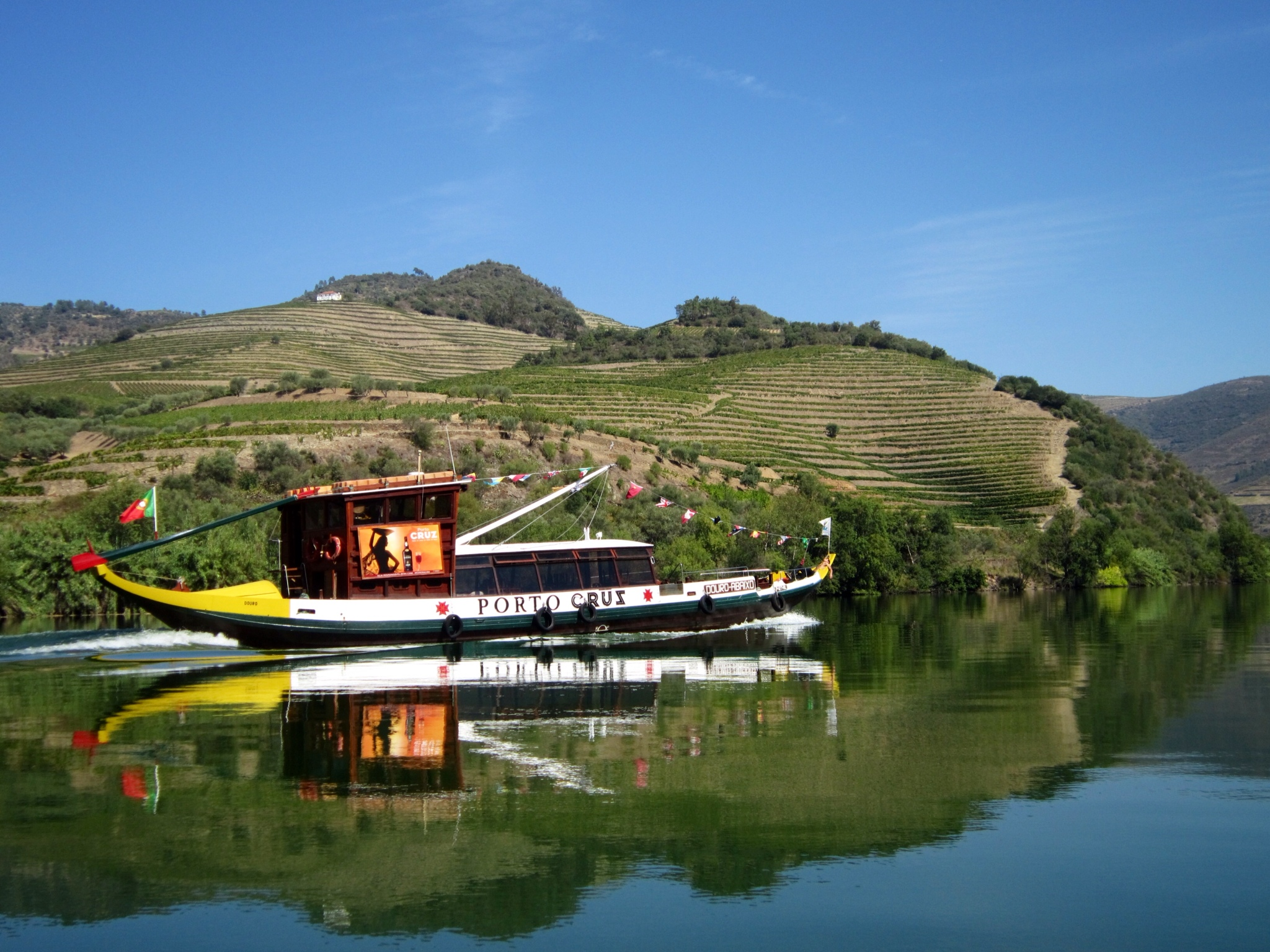 Douro Valley Portugal river boat cruise