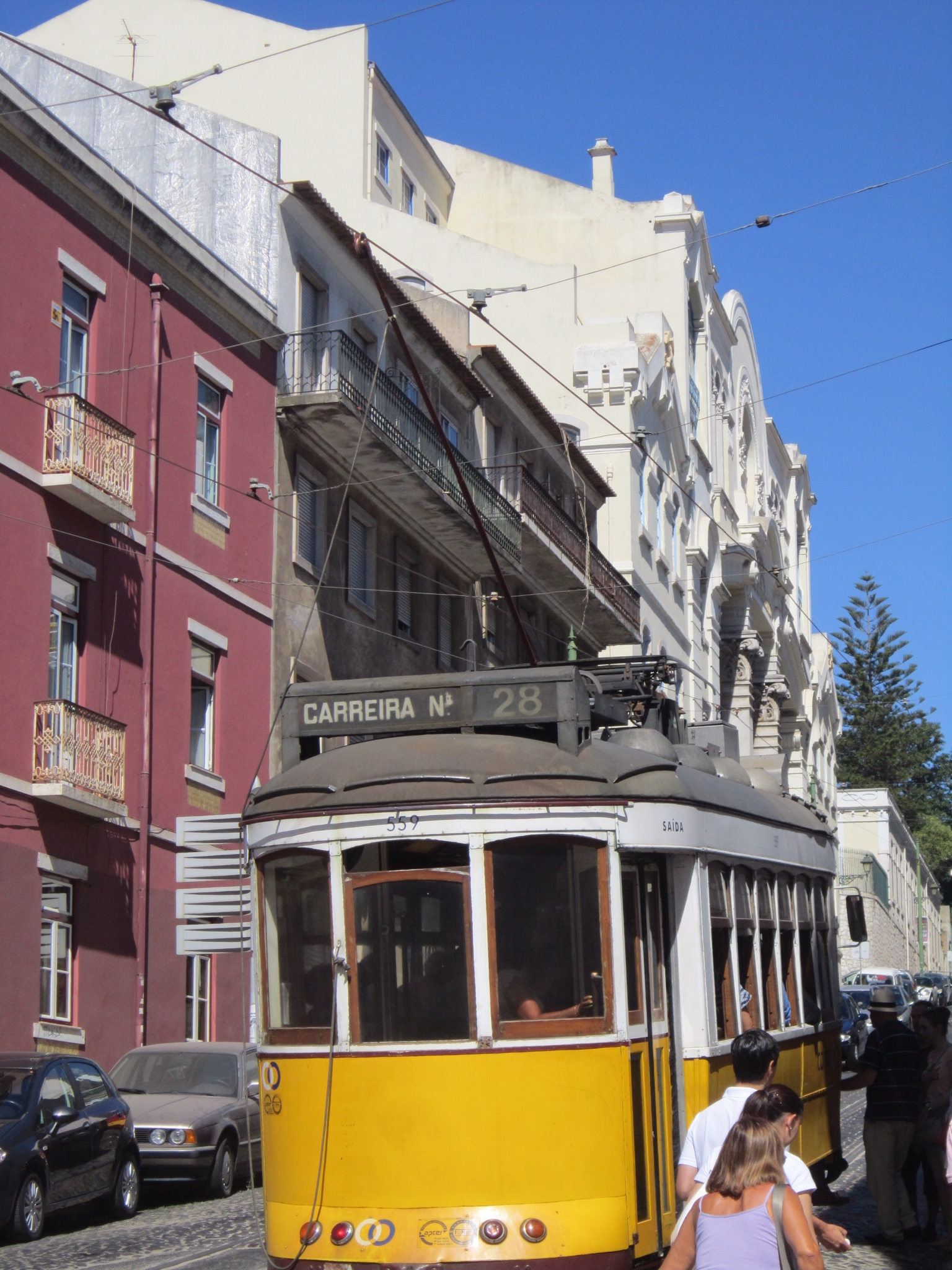 Lisbon Portugal Famous streetcars
