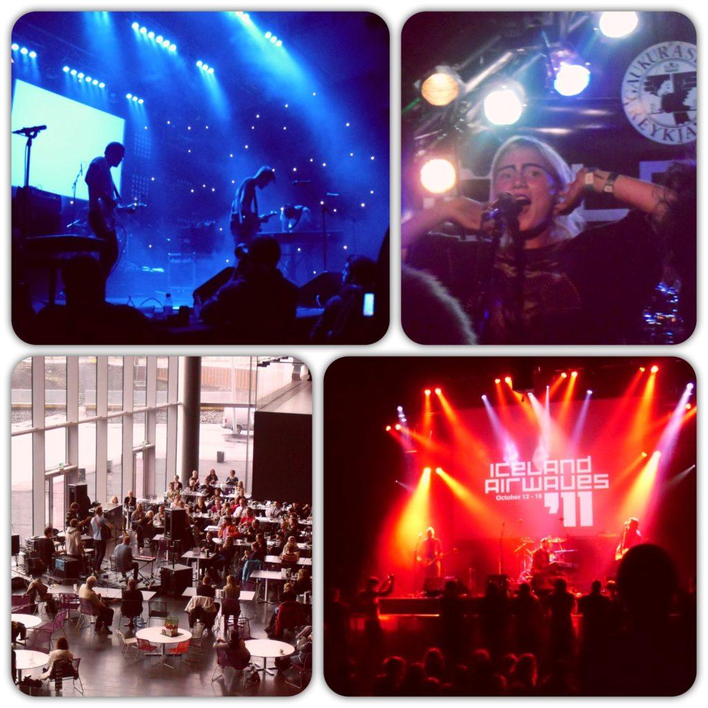 Iceland Airwaves 2011 musicians performing