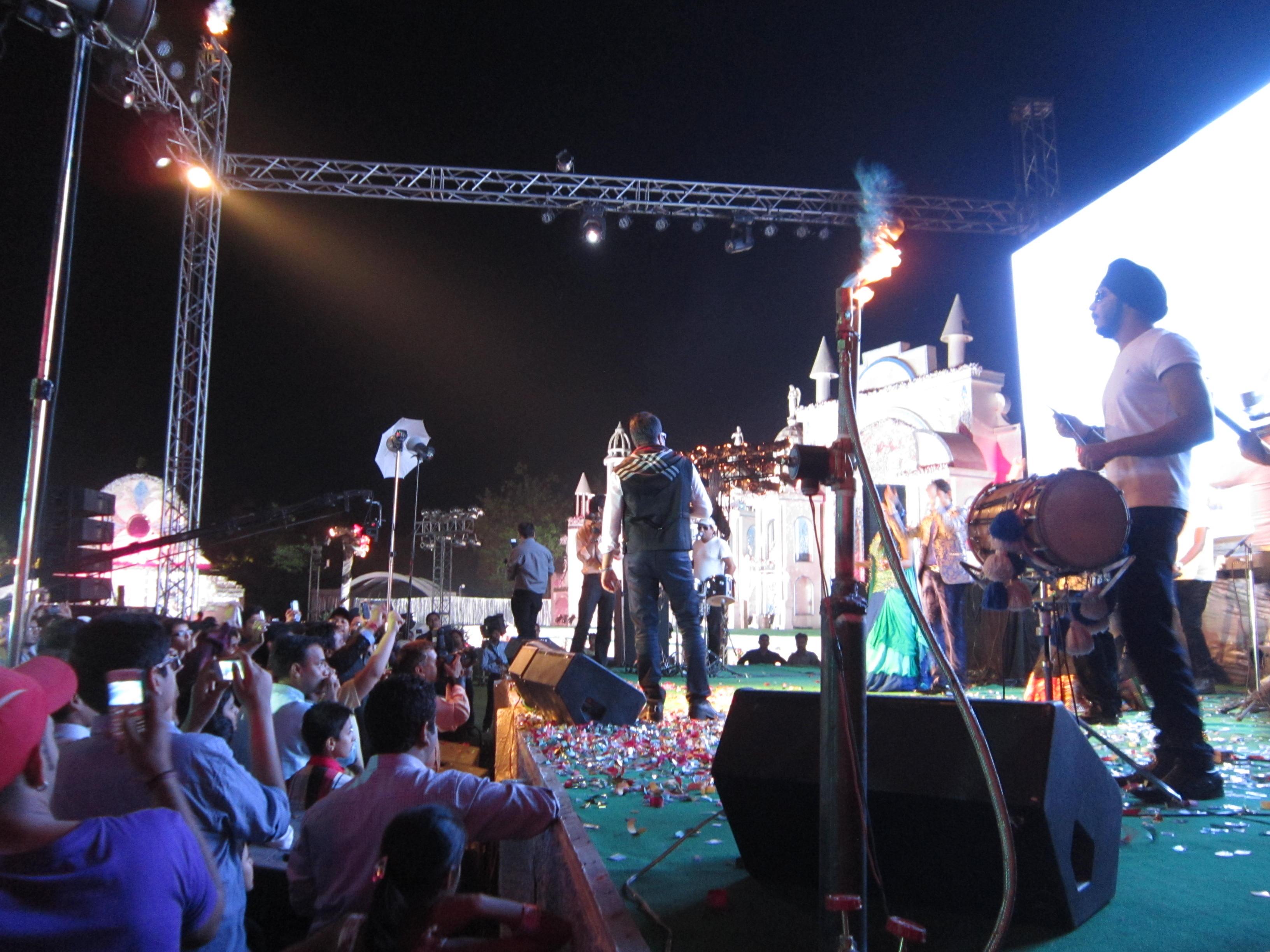 India Mika Singh celebrity performance wedding