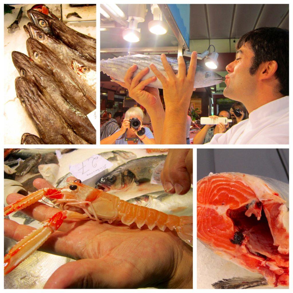 Girona Spain Chef Xavier Arrey food market