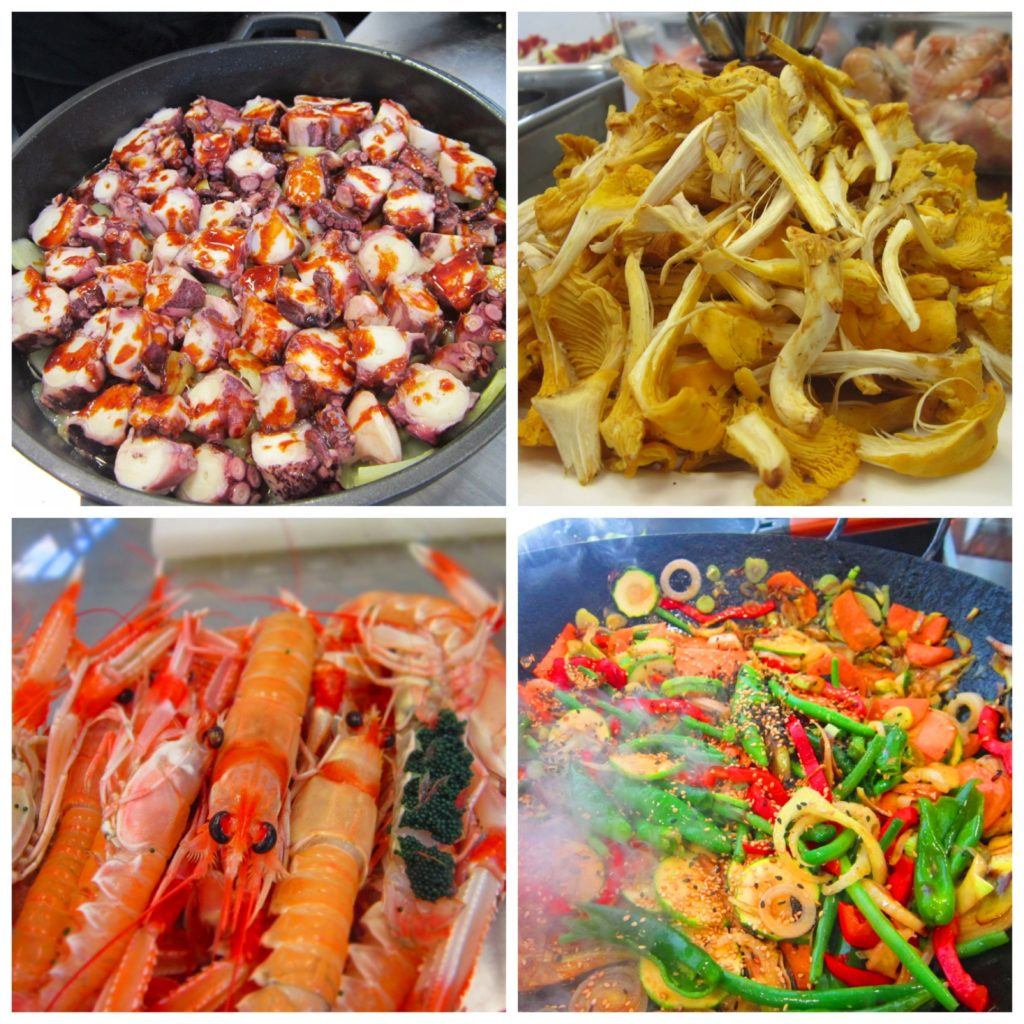 Girona Spain Chef Xavier cooking class