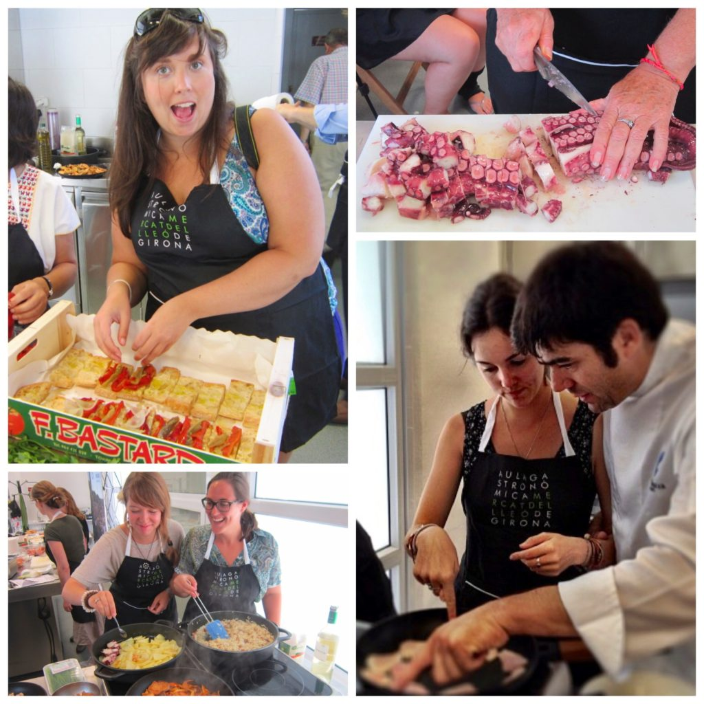Girona Spain Chef Xavier Arrey cooking class food market