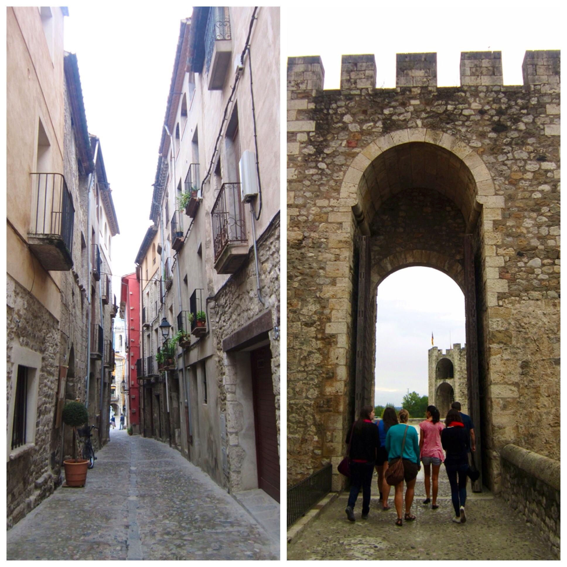 Besalu Spain streets