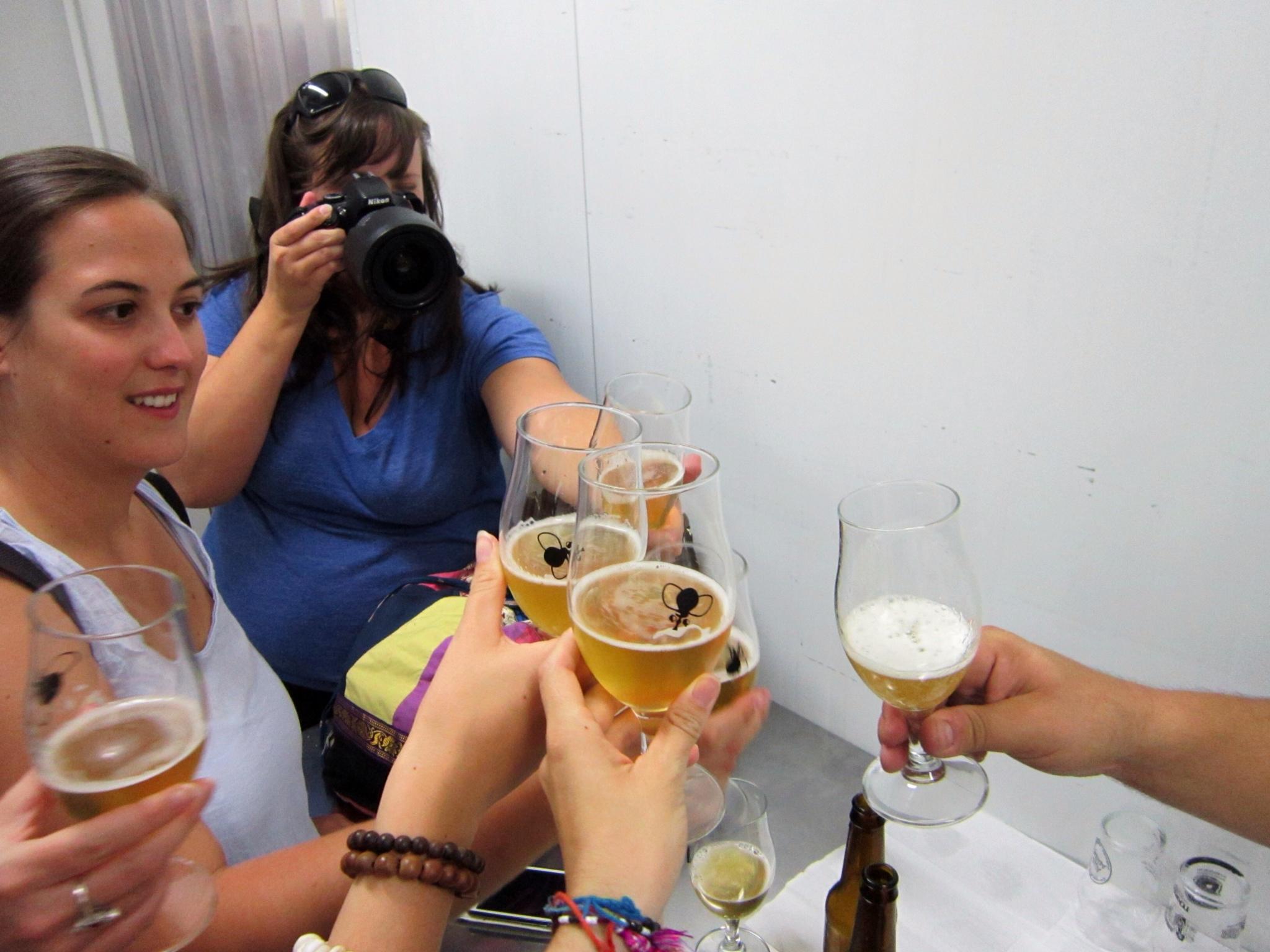 Beer glasses Moska toast