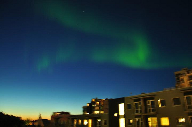 Northern Lights Reykjavik Iceland