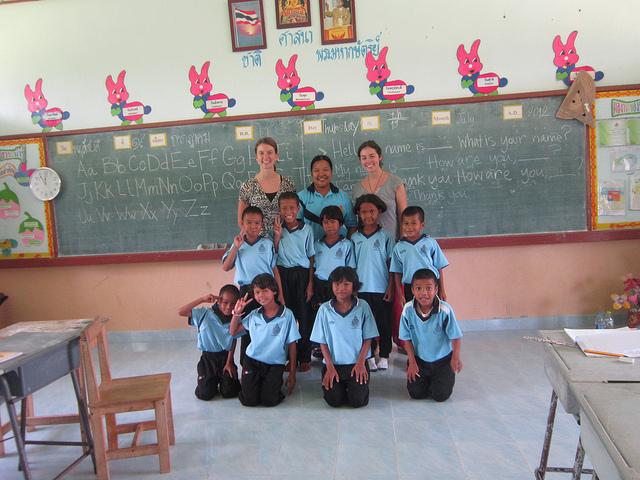 Nong Weang village school, Thailand