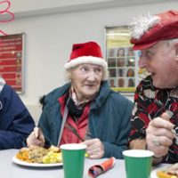 Crisis at Christmas volunteering homeless