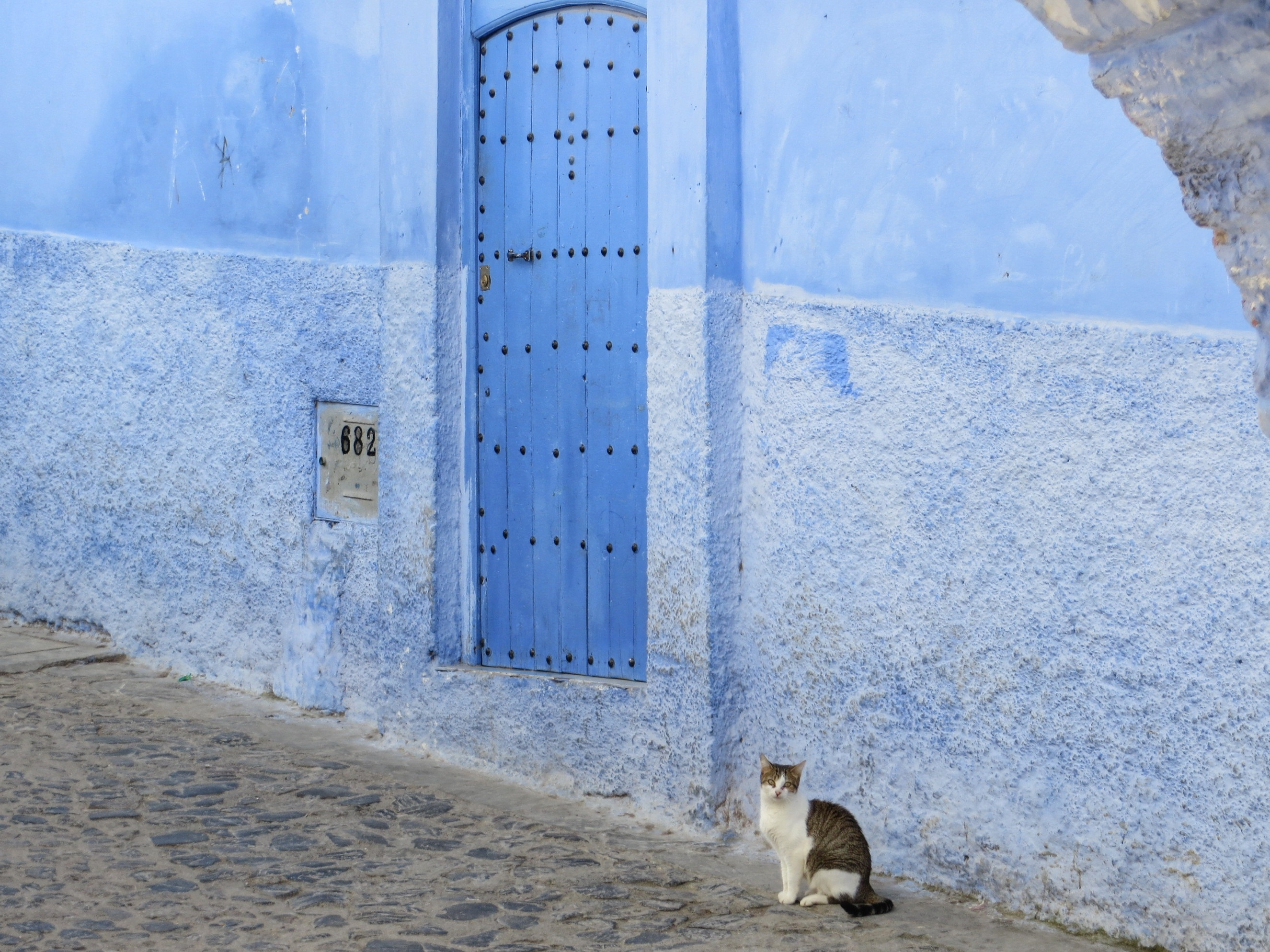 A Case Of Moroccos Chefchaouen Blues - Old town morocco entirely blue