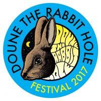 doune the rabbit hole festival logo 2017